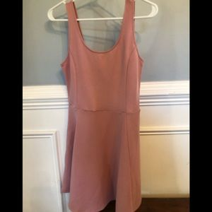 Divided dress mauve size 8
